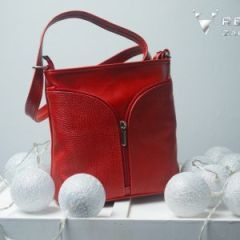 czerwona torebka damska Carmen